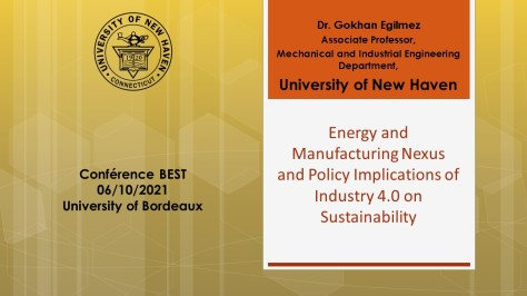 Energy and Manufacturing Nexus and Policy Implications of Industry 4.0